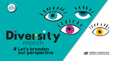 Official banner for Diversity Month 2020