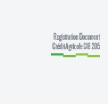Registration Document Crédit Agricole CIB 2015